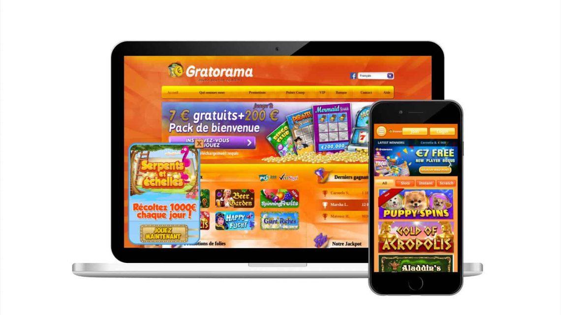Gratorama Casino Avis : tout ce que vous devez savoir !